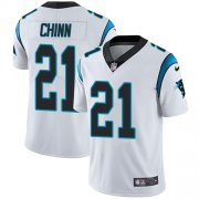 Wholesale Cheap Nike Panthers #21 Jeremy Chinn White Men's Stitched NFL Vapor Untouchable Limited Jersey