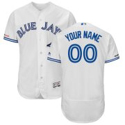 Wholesale Cheap Toronto Blue Jays Majestic Home Flex Base Authentic Collection Custom Jersey White
