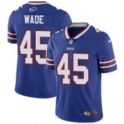 Wholesale Cheap Nike Bills #45 Christian Wade Royal Blue Team Color Men's Stitched NFL Vapor Untouchable Limited Jersey