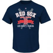 Wholesale Cheap Boston Red Sox Majestic 2016 Heart and Soul Spring Training T-Shirt Navy