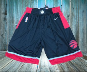 Wholesale Cheap Toronto Raptors Black Nike Swingman Shorts