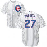 Wholesale Cheap Cubs #27 Addison Russell White Home Stitched Youth MLB Jersey