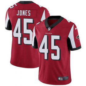 Wholesale Cheap Nike Falcons #45 Deion Jones Red Team Color Youth Stitched NFL Vapor Untouchable Limited Jersey