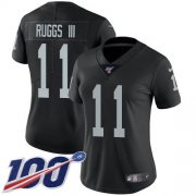 Wholesale Cheap Nike Raiders #11 Henry Ruggs III Black Team Color Women's Stitched NFL 100th Season Vapor Untouchable Limited Jersey