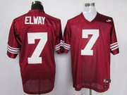 Wholesale Cheap Stanford Cardinals 7 Elway Red Jerseys