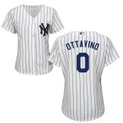 Wholesale Cheap Yankees #0 Adam Ottavino White Women's Cool Base Stitched MLB Jersey