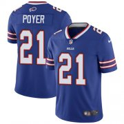 Wholesale Cheap Nike Bills #21 Jordan Poyer Royal Blue Team Color Youth Stitched NFL Vapor Untouchable Limited Jersey
