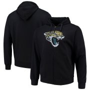 Wholesale Cheap Jacksonville Jaguars G-III Sports by Carl Banks Primary Logo Full-Zip Hoodie Black