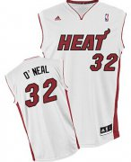 Wholesale Cheap Miami Heat Blank #32 Shaquille O'neal White Swingman Jersey