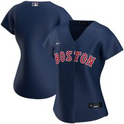Wholesale Cheap Boston Red Sox Nike Women's Alternate 2020 MLB Team Jersey Navy