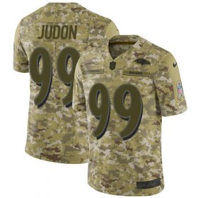 Wholesale Cheap Nike Ravens #99 Matthew Judon Camo Men\'s Stitched NFL Limited 2018 Salute To Service Jersey