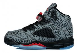 Wholesale Cheap Womens Air Jordan 3LAB5 Fire Red Shoes black/gray-red