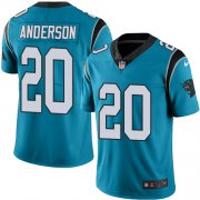 Wholesale Cheap Nike Panthers #20 C.J. Anderson Blue Alternate Men's Stitched NFL Vapor Untouchable Limited Jersey