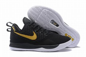 Wholesale Cheap Nike Lebron James Witness 3 Shoes Black Gold