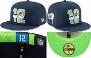Wholesale Cheap Seattle Seahawks fitted hats 10