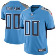 Wholesale Cheap Nike Tennessee Titans Customized Light Blue Team Color Stitched Vapor Untouchable Limited Youth NFL Jersey