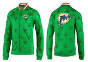 Wholesale Cheap MLB Arizona Diamondbacks Zip Jacket Green