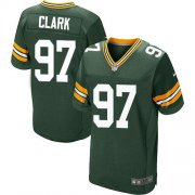 Wholesale Cheap Nike Packers #97 Kenny Clark Green Team Color Men's Stitched NFL Elite Jersey