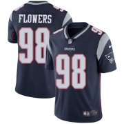Wholesale Cheap Nike Patriots #98 Trey Flowers Navy Blue Team Color Youth Stitched NFL Vapor Untouchable Limited Jersey