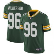 Wholesale Cheap Nike Packers #96 Muhammad Wilkerson Green Team Color Men's Stitched NFL Vapor Untouchable Limited Jersey