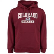 Wholesale Cheap Colorado Avalanche Rinkside City Pride Pullover Hoodie Burgundy