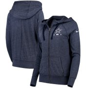 Wholesale Cheap Atlanta Braves Nike Therma Pullover Hoodie Navy