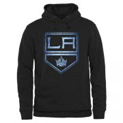 Wholesale Cheap Los Angeles Kings Rinkside Pond Hockey Pullover Hoodie Black