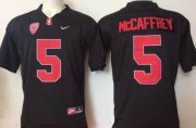 Wholesale Cheap Men's Stanford Cardinals #5 Christian McCaffrey Black Stitched College Football Nike NCAA Jersey