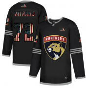 Wholesale Cheap Florida Panthers #72 Sergei Bobrovsky Adidas Men's Black USA Flag Limited NHL Jersey