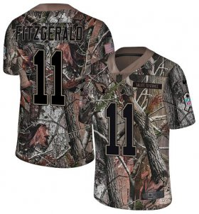 Wholesale Cheap Nike Cardinals #11 Larry Fitzgerald Camo Men\'s Stitched NFL Limited Rush Realtree Jersey