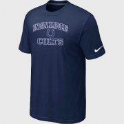 Wholesale Cheap Nike NFL Indianapolis Colts Heart & Soul NFL T-Shirt Midnight Blue