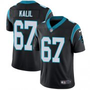 Wholesale Cheap Nike Panthers #67 Ryan Kalil Black Team Color Youth Stitched NFL Vapor Untouchable Limited Jersey