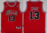 Wholesale Cheap Chicago Bulls #13 Joakim Noah Revolution 30 Swingman Red Jersey