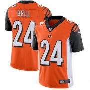 Wholesale Cheap Nike Bengals #24 Vonn Bell Orange Alternate Youth Stitched NFL Vapor Untouchable Limited Jersey