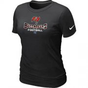 Wholesale Cheap Women's Nike Tampa Bay Buccaneers Critical Victory NFL T-Shirt Black