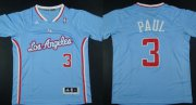 Wholesale Cheap Los Angeles Clippers #3 Chris Paul Revolution 30 Swingman 2013 Blue Jersey
