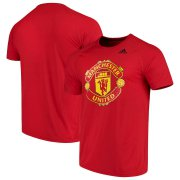 Wholesale Cheap Manchester United adidas Primary Logo Ultimate T-Shirt Red