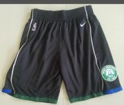 Wholesale Cheap Men's Milwaukee Bucks Nike Black Basketball Shorts