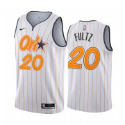 Wholesale Cheap Nike Magic #20 Markelle Fultz White NBA Swingman 2020-21 City Edition Jersey