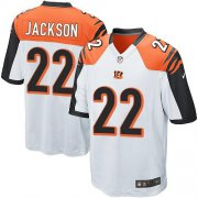Wholesale Cheap Nike Bengals #22 William Jackson White Youth Stitched NFL Elite Jersey