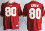 Wholesale Cheap Florida State Seminoles #80 Rashad Greene 2013 Red Jersey