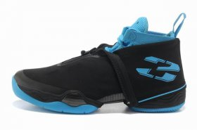 Wholesale Cheap Air Jordan 28 Shoes Black/Blue