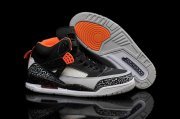 Wholesale Cheap Air Jordan 3.5 Retro Shoes Black/orange-grey