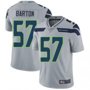 Wholesale Cheap Nike Seahawks #57 Cody Barton Grey Alternate Men's Stitched NFL Vapor Untouchable Limited Jersey