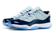 Wholesale Cheap Air Jordan 11 GEORGETOWN Shoes Navy blue/white-gray