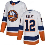 Wholesale Cheap Adidas Islanders #12 Josh Bailey White Road Authentic Stitched Youth NHL Jersey