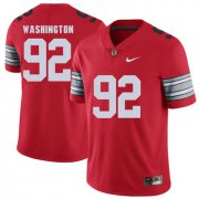 Wholesale Cheap Ohio State Buckeyes 92 Adolphus Washington Red 2018 Spring Game College Football Limited Jersey