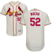 Wholesale Cheap Cardinals #52 Michael Wacha Cream Flexbase Authentic Collection Stitched MLB Jersey