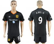 Wholesale Cheap Hull City #9 Abel H Away Soccer Club Jersey