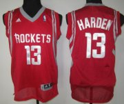 Wholesale Cheap Houston Rockets #13 James Harden Red Swingman Jersey
